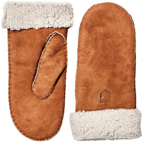 Hestra Sheepskin Vingerloze Fietshandschoenen Dames, cork